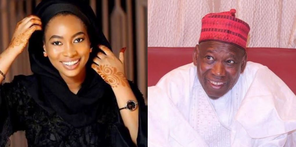 Ganduje's daughter comes for her father's critics on Twitter
