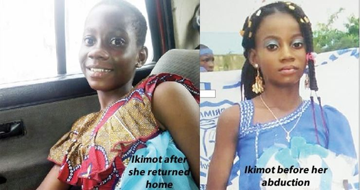 Child who mysteriously went missing in Lagos returns home 5 years later, narrates what happened
