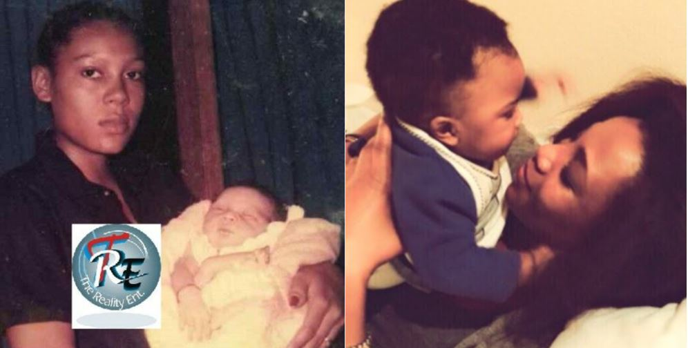 Some Nigerian Female Celebrities Who Had Their First Babies As Teenagers (Their Kids and Photos)