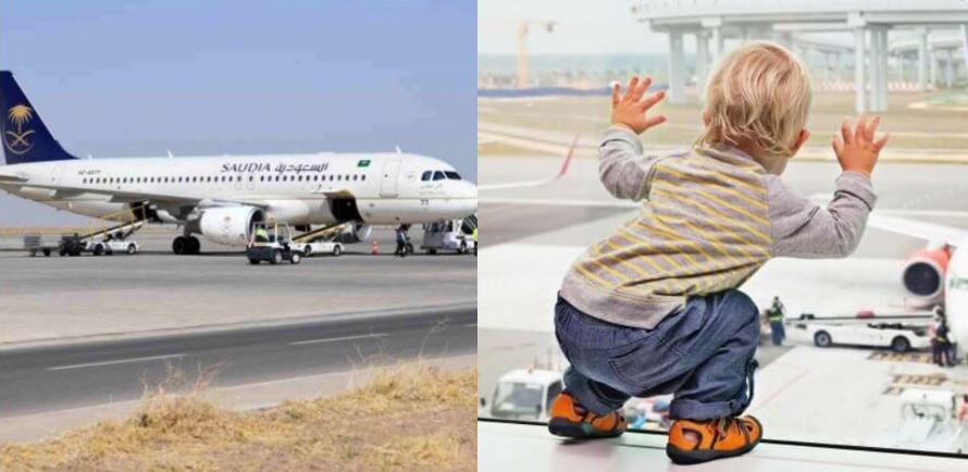 Plane forced to turn around and return to airport as woman forgets her baby at airport