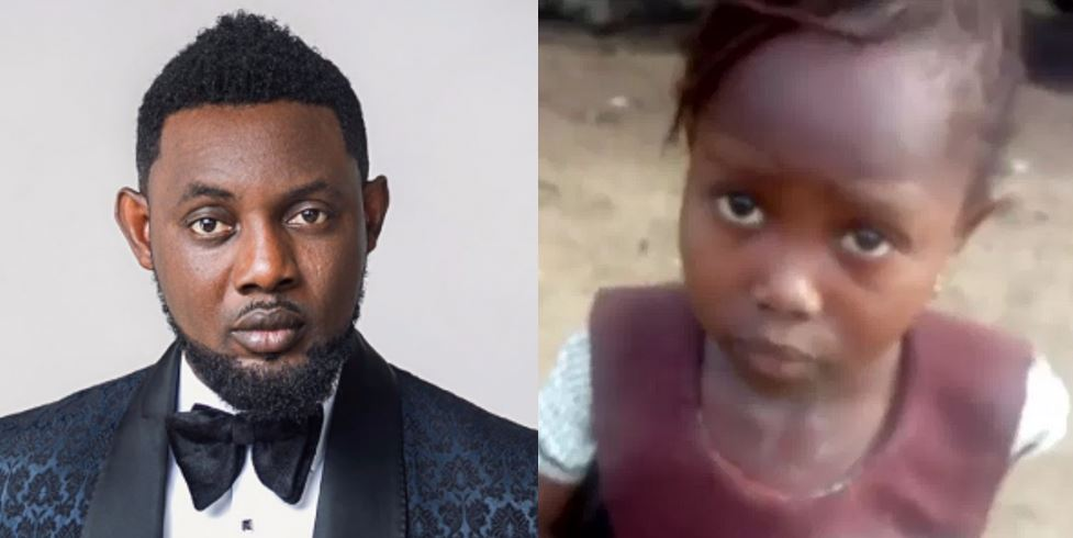 AY shares conversation with little girl who was sent away from school over unpaid school fees and it is so hilarious