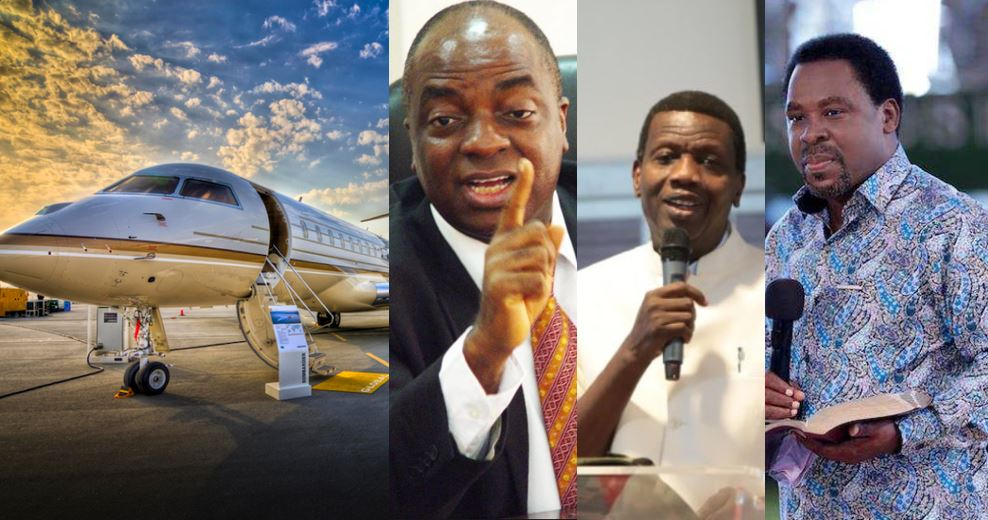 Nigerian Pastors Who Have Private Jets, How Many Each Owns and Their Worth
