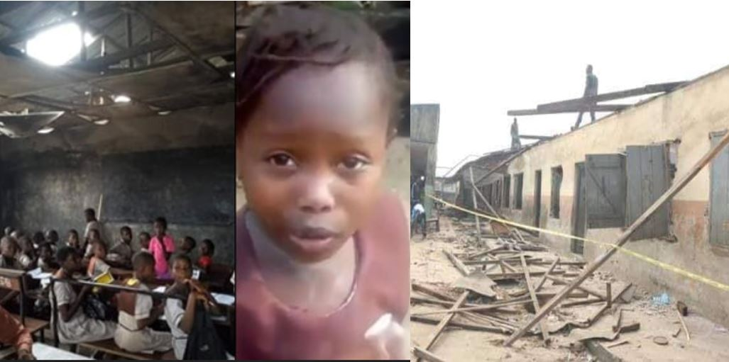Delta state government starts renovation of the dilapidated school which little girl who was chased away from school attends