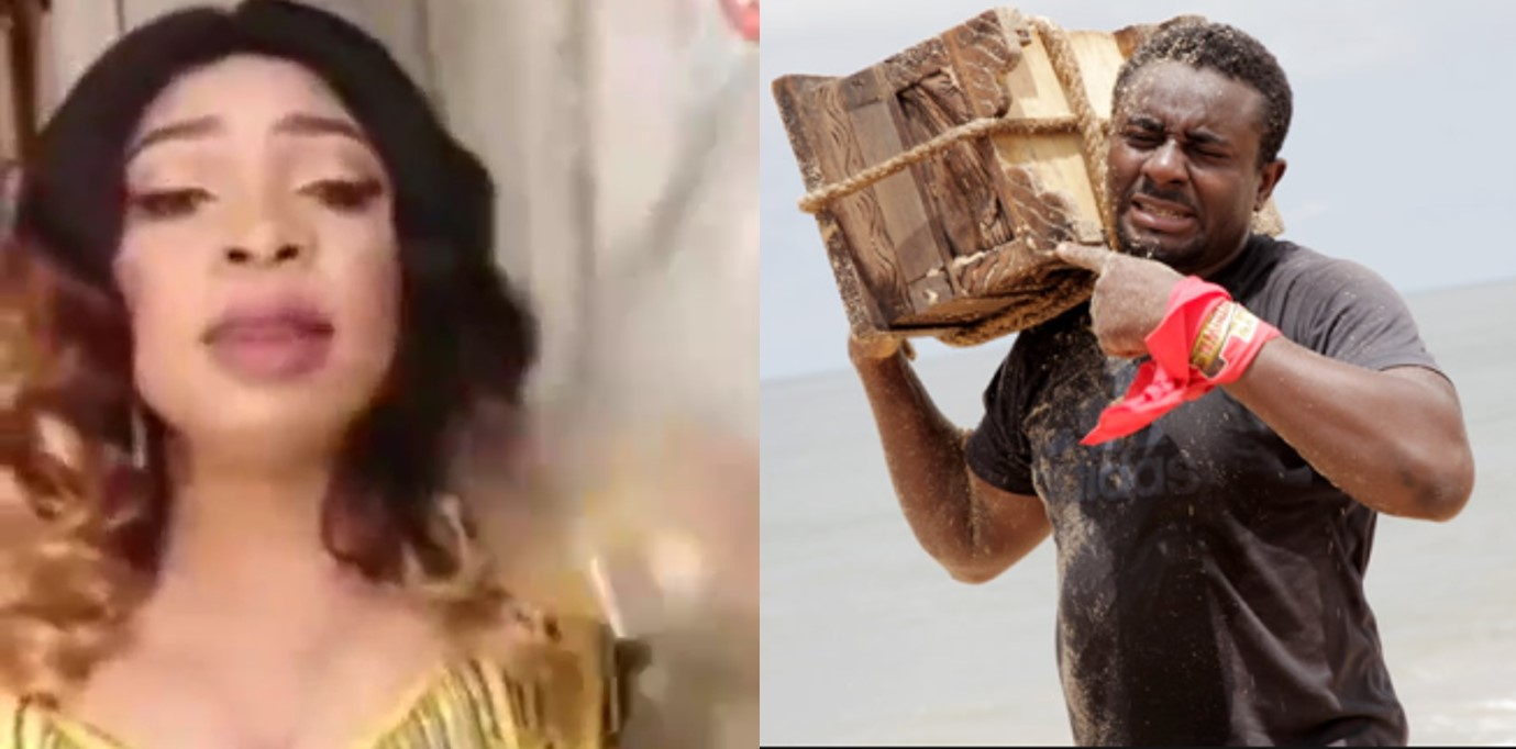 """Emeka Ike reacts to viral video of Nigerian woman selling mystic bottle where married women can """"lock"""" their irresponsible husbands"""