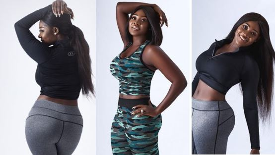 Mercy Johnson-Okojie replies fan who claimed she had plastic surgery