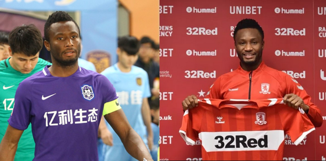 John Mikel Obi reveals why he left China for England