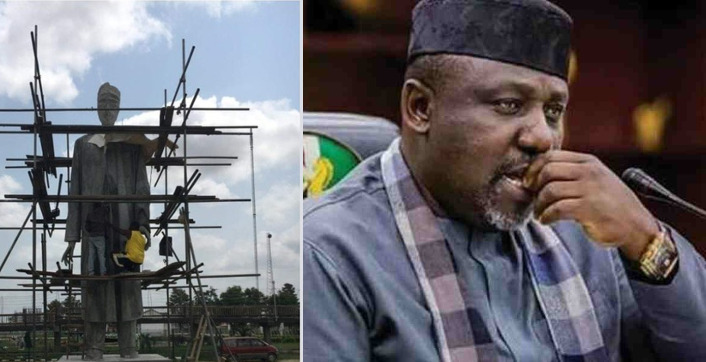 Rochas Okorocha sets to unveil another statue few months to handover (Photos)