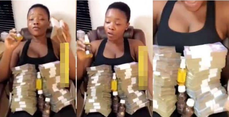 Lady advertises secret 'attraction perfume' she used to become a millionaire, reveals what it does for ladies