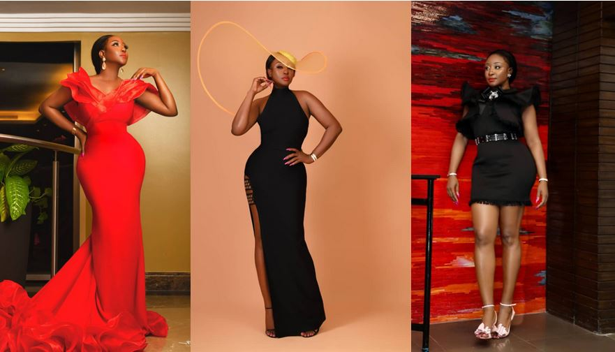 Ini Edo shares lovely photos to celebrate her 37th birthday, writes herself a lovely birthday message