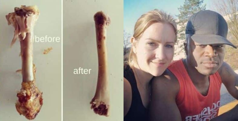 White woman reveals how her eating habits have changed after she married an Igbo man, Nigerians react
