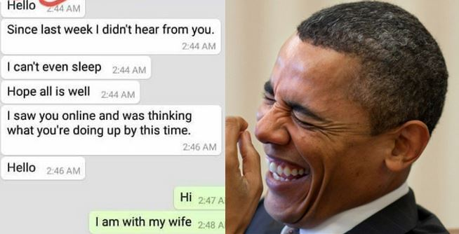 My wife do am pass you – Hilarious conversation between a married man and his side chic