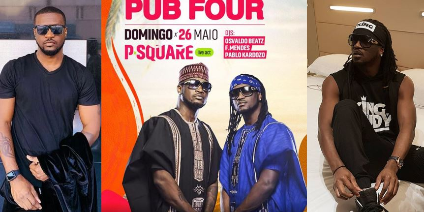 Peter Okoye to drag his twin brother, Paul to court for promoting show with his photo