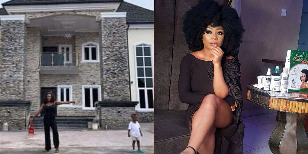 Ifu Ennada shades Okoro Blessing claiming the ownership of a house that is not hers