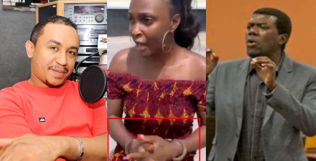 Daddy Freeze and Reno Omokri react to the arrest of Blessing Okoro by Onye Eze