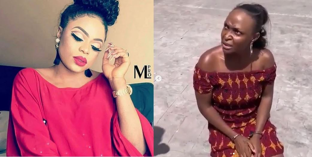 'We are all thieves' – Bobrisky says as he encourages Okoro Blessing