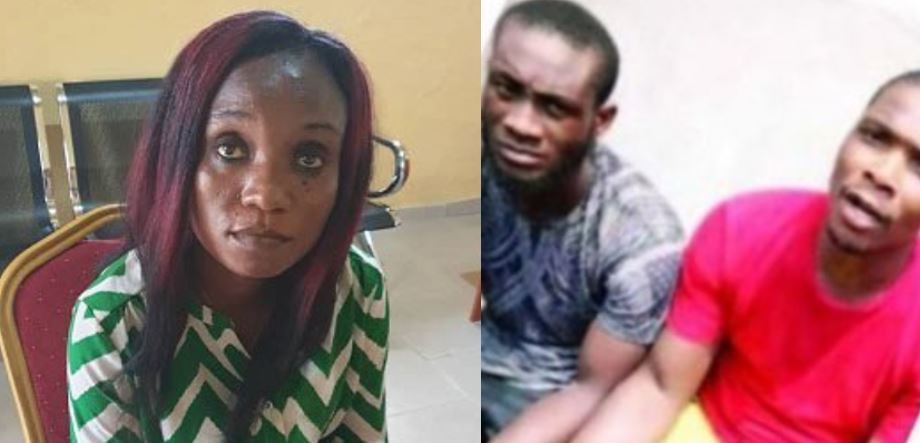 Nigerian woman stages her own kidnap to extort money from her relatives so she could relocate abroad with her boyfriend