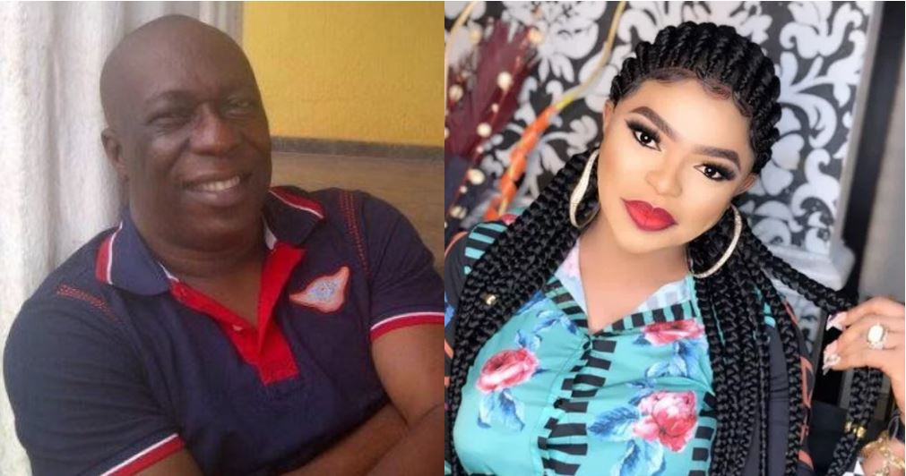 Charles Awurum reacts to Bobrisky calling him the poorest Nollywood actor