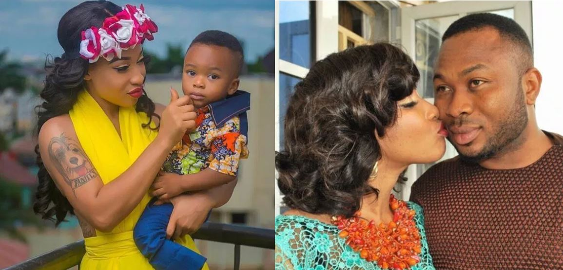 Tonto Dikeh reveals the only reason why she could get back with Churchill