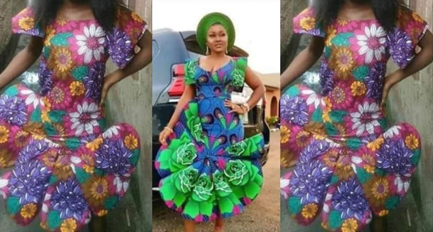 See what a lady got after asking her tailor to recreate Mercy Aigbe's iconic dress