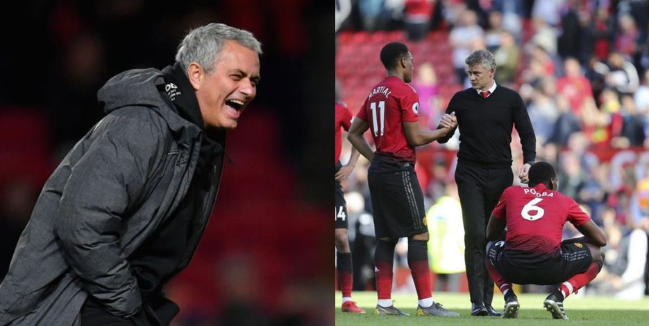 Mourinho reveals the three problems Manchester United have, takes a swipe at Ole