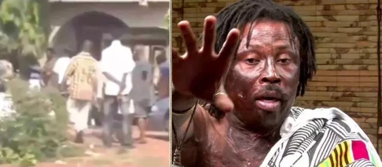 Herbalist enters church to collect his Juju from pastor (Video)