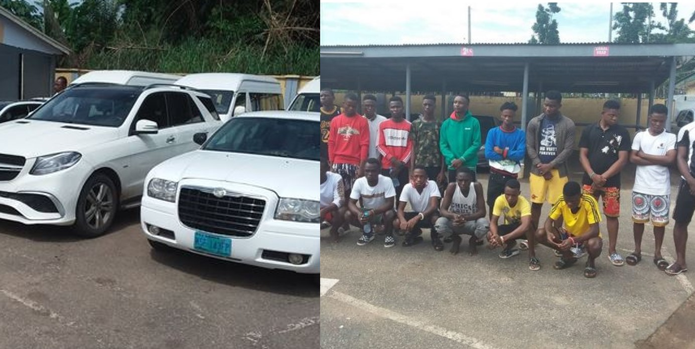 EFCC Arrests 22 Suspected yahoo boys in Delta State