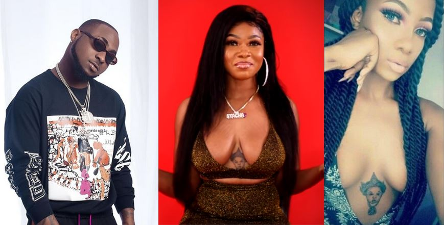 Girl who tattooed Davido on her chest among the 2019 BBNaija housemates