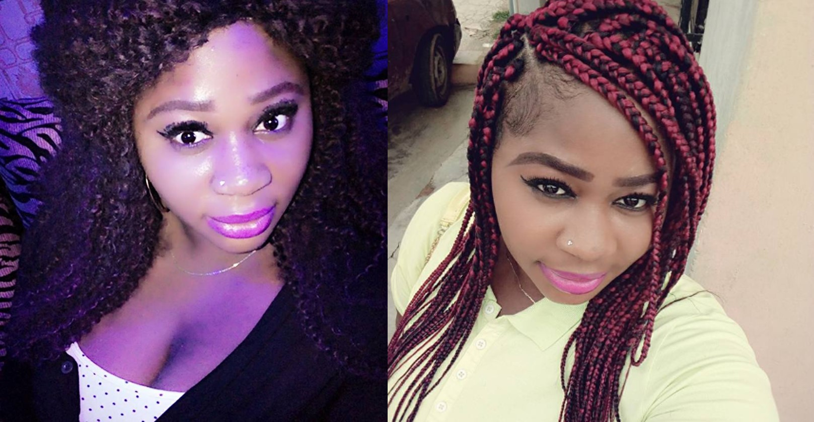 Nigerian Lady calls out man who abandoned her because she refused to abort their child