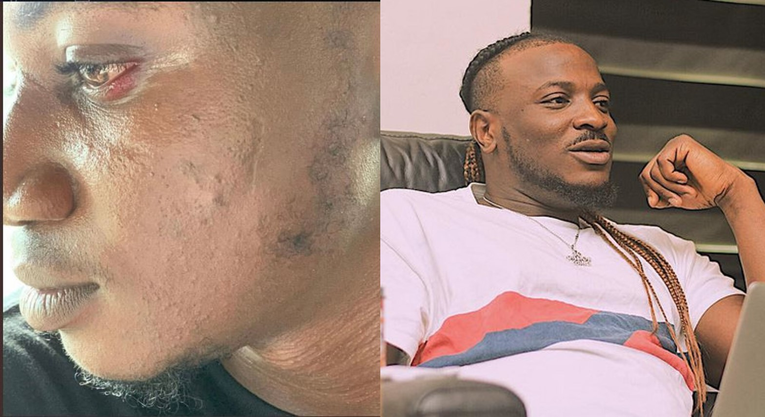 Singer Peruzzi tenders a public apology to Pamilerin