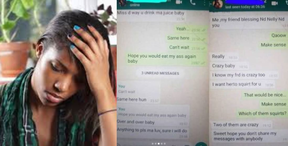 'My boyfriend cheated with multiple ladies' – Nigerian lady cries out, shares chats