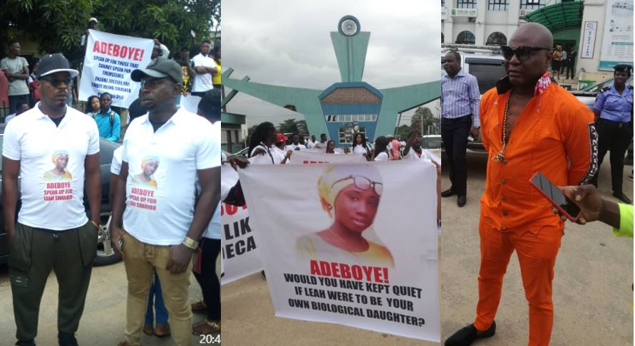 Charly Boy, Idris Abdulkareem, youths storm Redeemed Church in protest of Adeboye's silence on herdsmen killings, asks him to speak up or step down