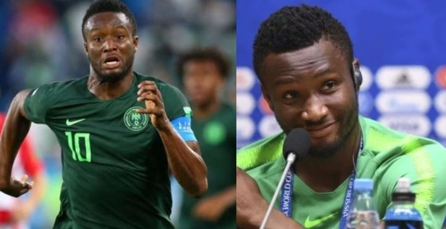 Mikel Obi reveals he will retire from Super Eagles after AFCON 2019