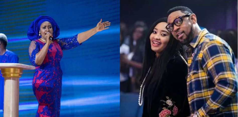 """""""God will give my husband grace to know what to do""""- Pastor Omodele Fatoyinbo"""