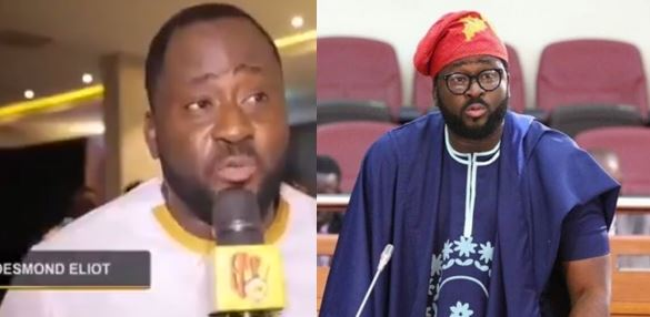 Desmond Elliot calls for ban of foreign movies in Nigeria to enable Nollywood movies grow (Video)