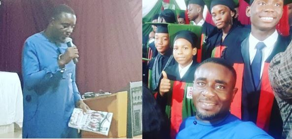 Actor Emeka Ike celebrates his second son as he graduates from college (Photos)