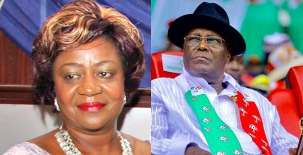 'Imagine for a second Atiku won the 2019 election, it would have been over for our nation ' – Lauretta Onochie says, Nigerians react
