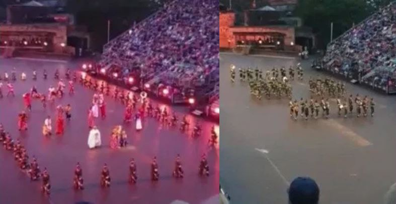 Nigerian Army Band Puts Up An Amazing Display At Scotland's International Military Event (Video)