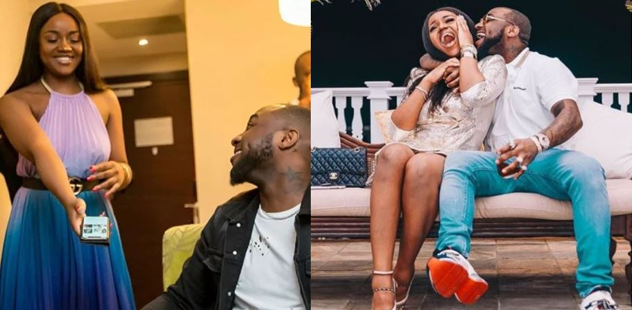 Davido's girlfriend, Chioma due to give birth
