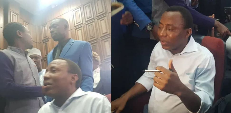 Sowore speaks for the first time since he was arrested, reveals how he is being treated by DSS