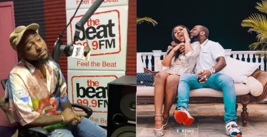 Davido speaks on expecting a child with Chioma (video)