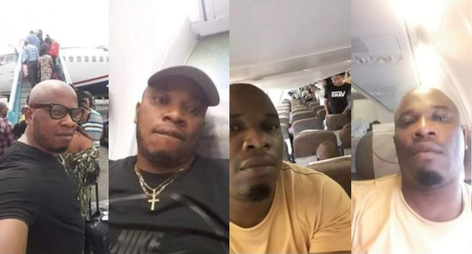 Man who left Nigeria for South Africa because of Buhari re-election fights for airline free spot back to Nigeria