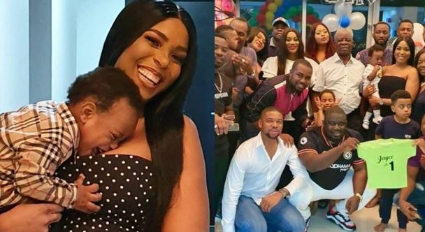 Beautiful photos from Linda Ikeji's son, Jayce's birthday party in Dubai