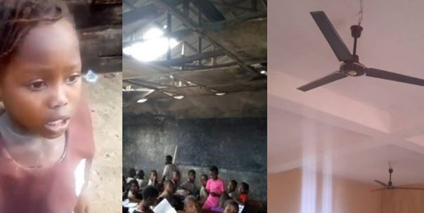New look of little Success' former school (Photos)