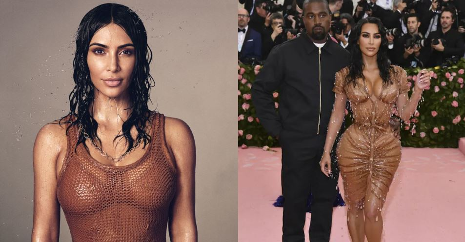 """Kim Kardashian claps back at Kanye West for complaining about her """"too sexy"""" dress (video)"""