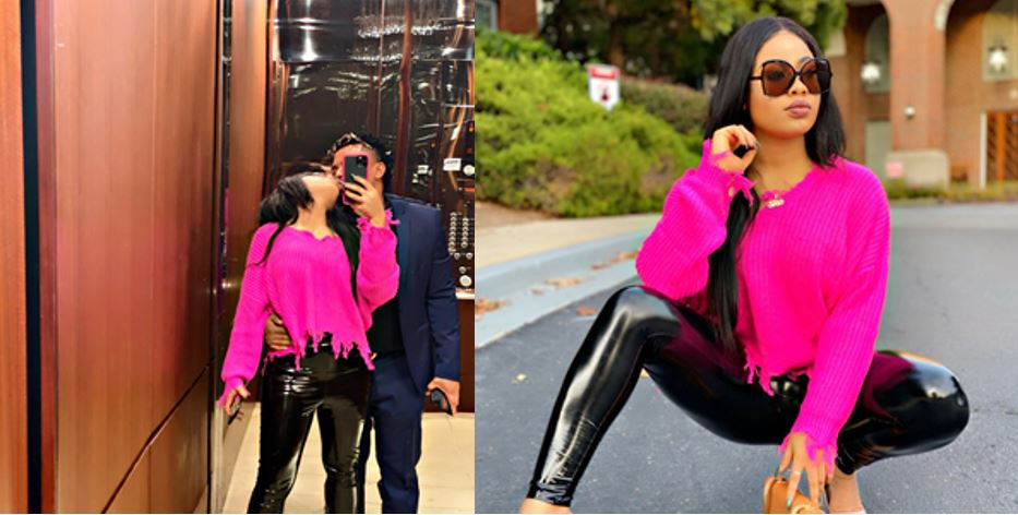 BBNaija Nina Ivy shows off the new man in her life (video)