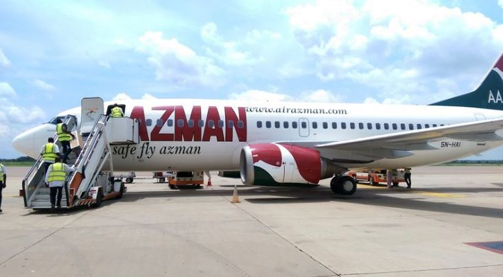 There was no fire! -Azman Airline