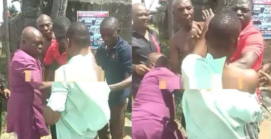 Onlookers stunned as Okada rider exchanges blows with passenger over N50 change (Video)