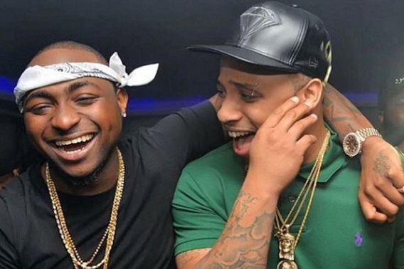 Davido's cousin, B-red welcomes baby boy with girlfriend (PHOTO)