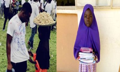 Groundnut seller admitted to study