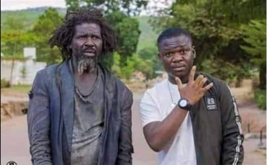 Never run away from your parents – Man says as he poses with his mentally challenged Dad